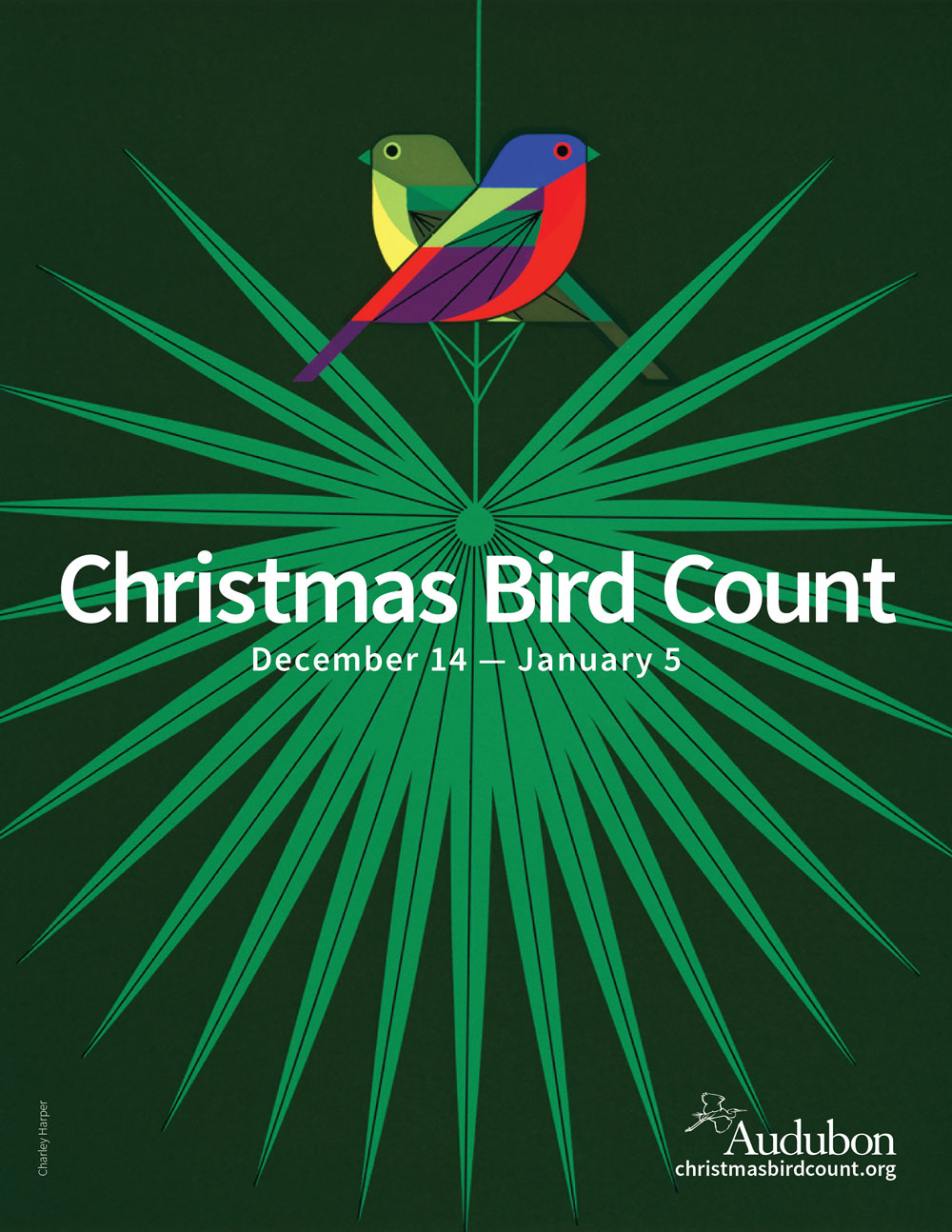 Christmas Bird Count Graphic